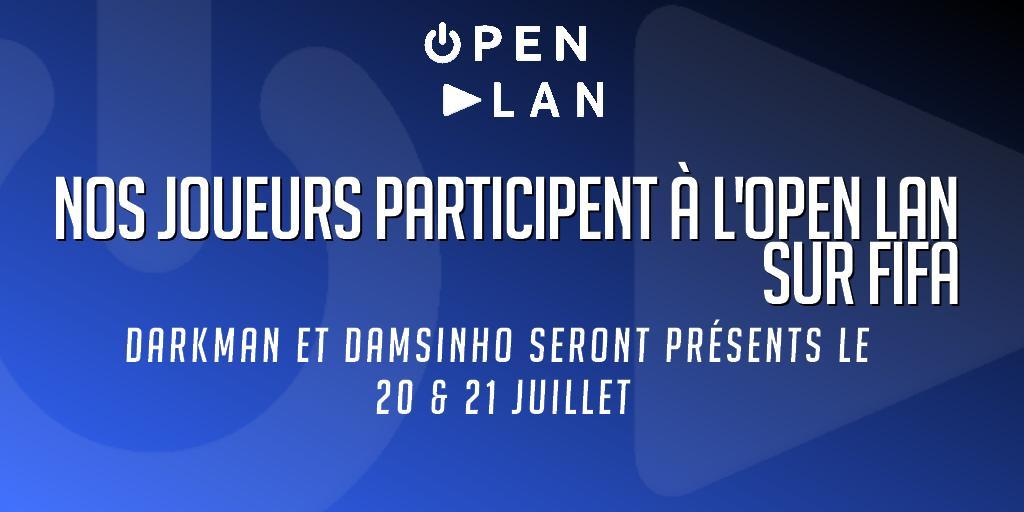 L' #OpenLan1 de #Lormont, c'est ce week-end à la maison des associations et visiblement, des invités prestigieux sont attendus pour les #tournois #FIFA ! 😃😃😃😃 @crystalgaming8 #geek #jeuxvidéo #RETROGAMING twitter.com/EsportLoud/sta…