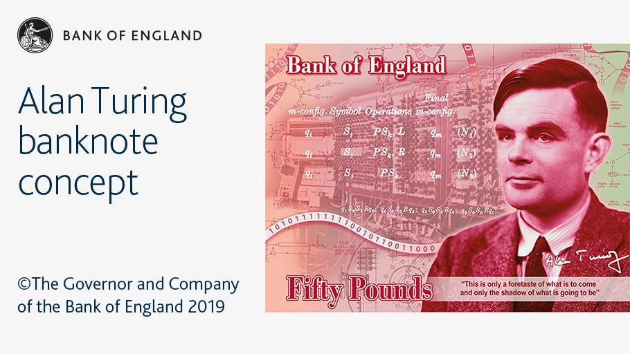 Alan Turing, the Father of A.I., Is the New Face of a Banknote
