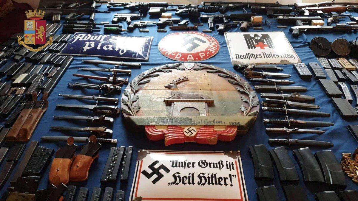 Неудобные связи итальянских нацистов