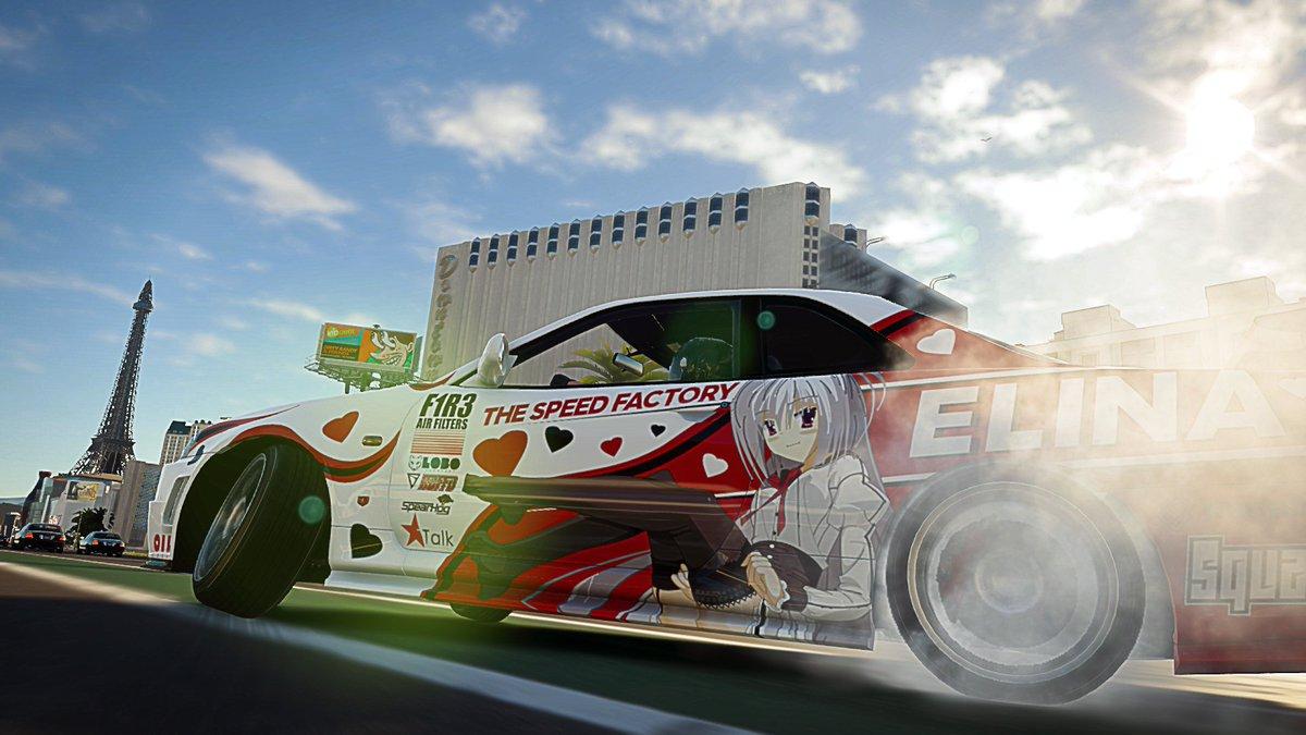 The Crew 2 Drifting the Elina R34 in Las Vegas #thecrew2 #drifting