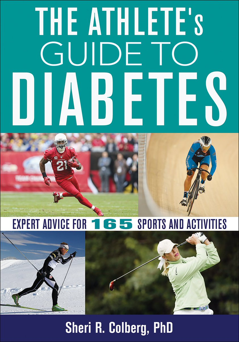 It's #DiabetesWeek. It is a complicated disease that shouldn't stop you from exercising. In fact it should be a reason to exercise. Dr Colberg's new book provides real-life examples from a remarkable array of athletes with diabetes from around the wold https://bit.ly/2HshK4v