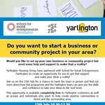 We're excited to be in Yeovil Innovation Centre today with @yarlingtonhg and @i2aguidance #Communities #Learning #SocEnt