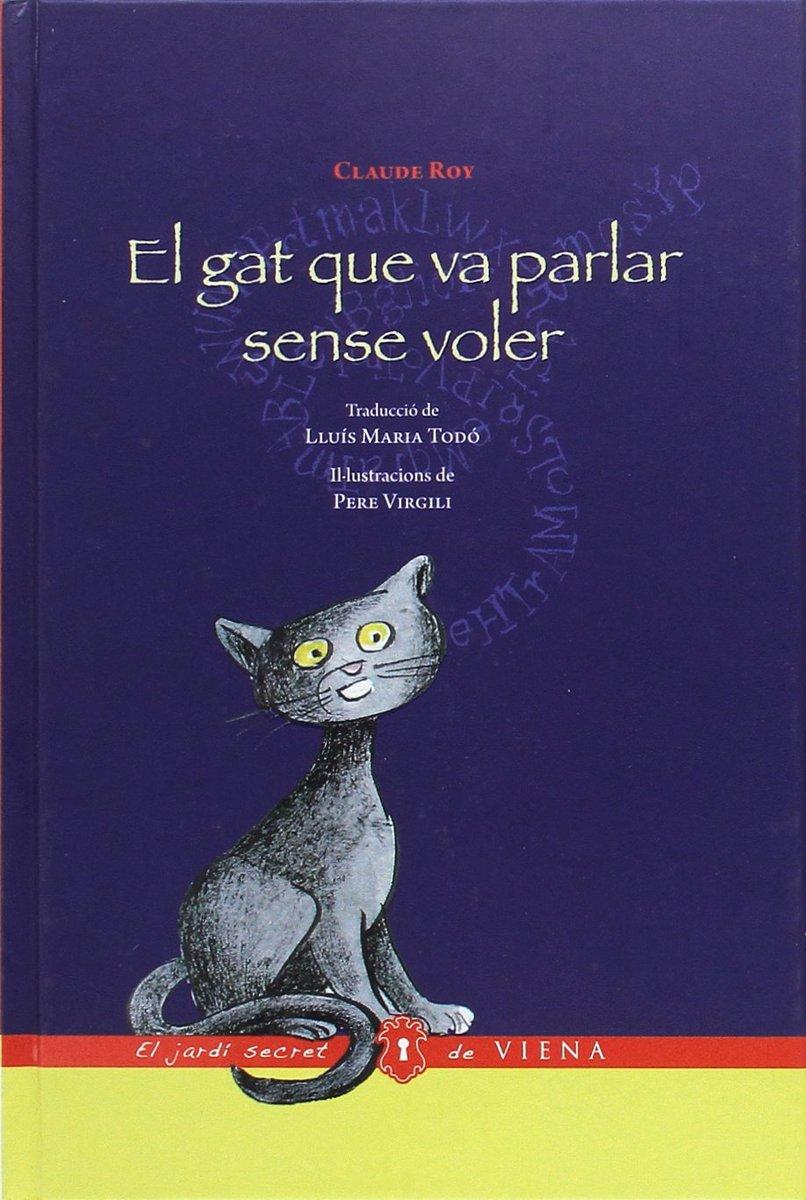 """Novetat #imaginació 🐱🗣️🙊 """"El gat que va parlar sense voler"""", un llibre de Claude Roy https://vienaedicions.com/book/el-gat-que-va-parlar-sense-voler…"""