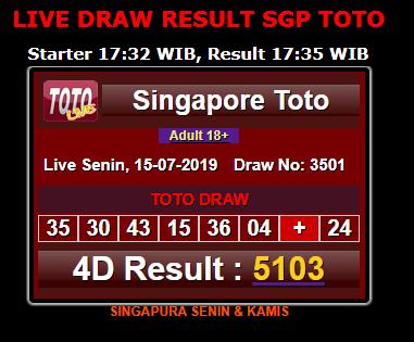 Livedraw Singapore Toto  Result E E A   E  Sah Singapore