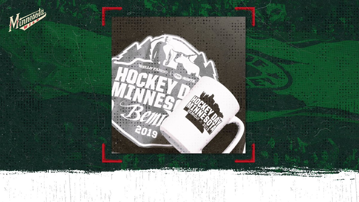 A throwback giveaway... RT to enter to win a #HDM2019 pres. by @WellsFargo t-shirt and mug.   #NationalGiveSomethingAwayDay | #mnwild