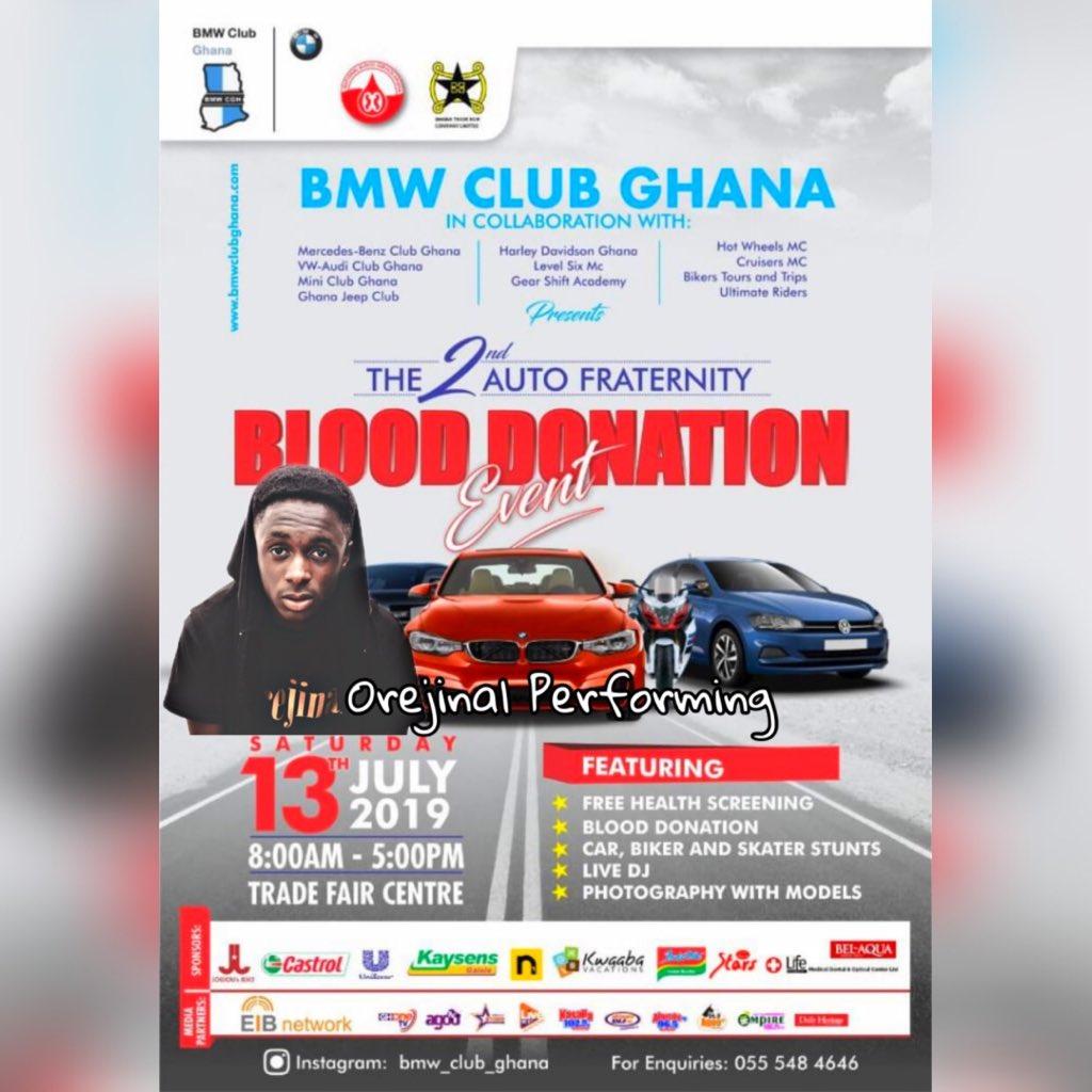 Performance Done ,Thank You @bmw_club_ghana 📸: @timwaa_impact  #youcandoit  #orejinal  #bmwclubghana https://t.co/zE2H2NmnLy