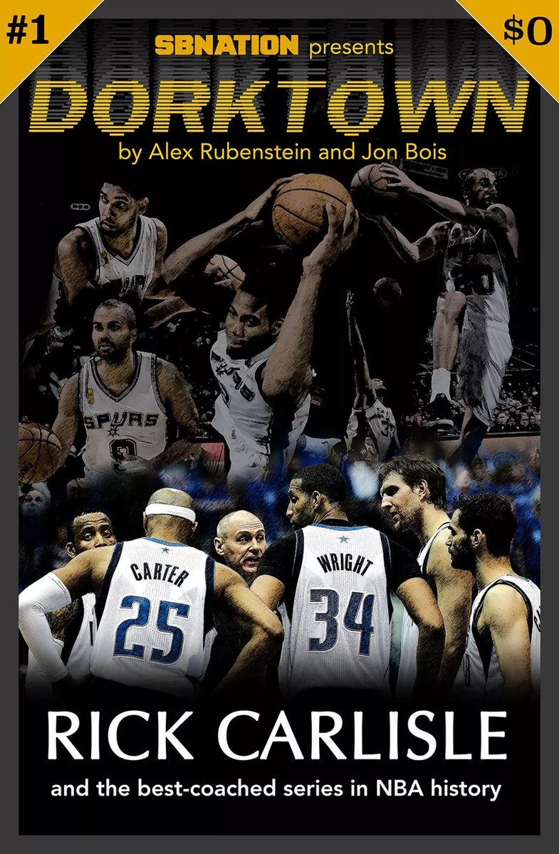 Really fun trip down memory lane. That was a magical Mavs team, and the evening of Vince Carter's game-winner still feel suspended in time as a moment in which Dallas could very well pull off an 8-seeded upset.