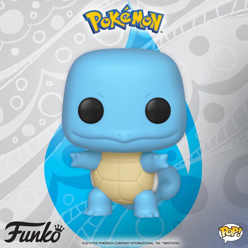 Squirtle el Pokémon tipo agua - Funko Pop!