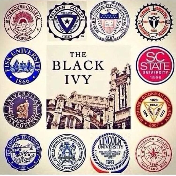 Retweet if your school is a Black Ivy 🎓🔥