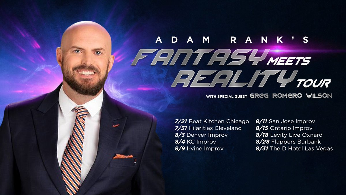 Chicago. Get your tickets for the Fantasy Meets Reality show on Sunday. Tickets are going faster than Tarik Cohen on a breakaway. beatkitchen.com/event/tw-event…