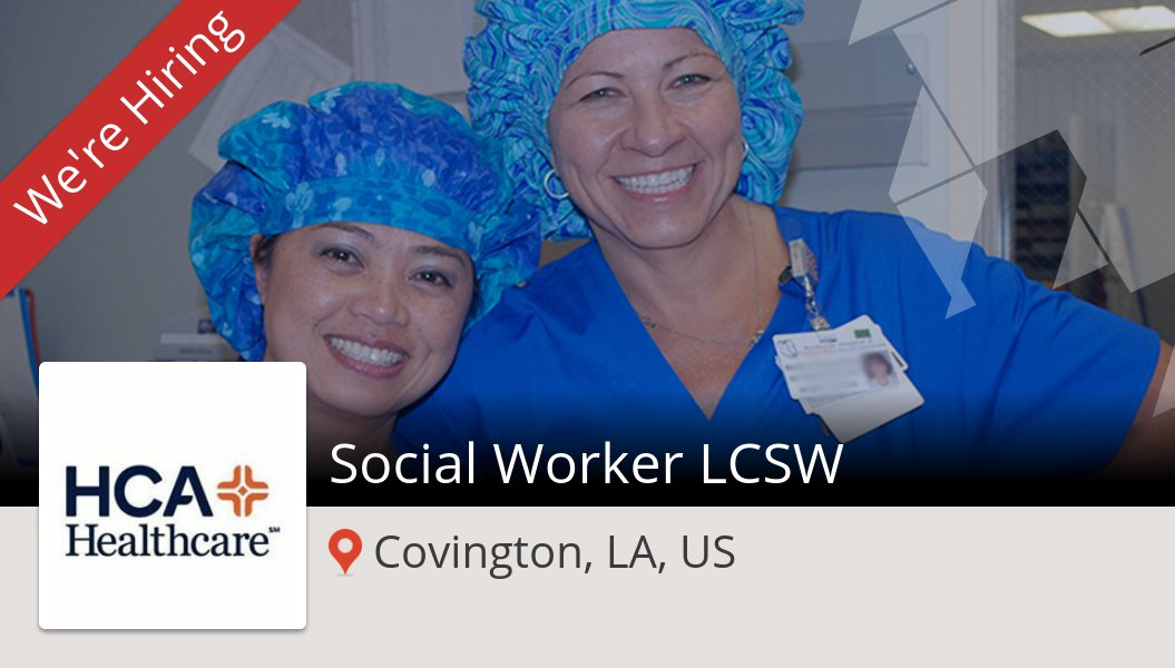 #CareersatHCA is looking for a #Social #Worker LCSW in #Covington, apply now! #job https://t.co/zhvYHf0asx https://t.co/LxSpHjSoyH