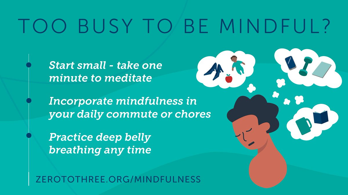 Practicing mindfulness doesn't have to be complicated or time consuming. Start small by visiting https://bit.ly/2xqhKw0  to learn more.