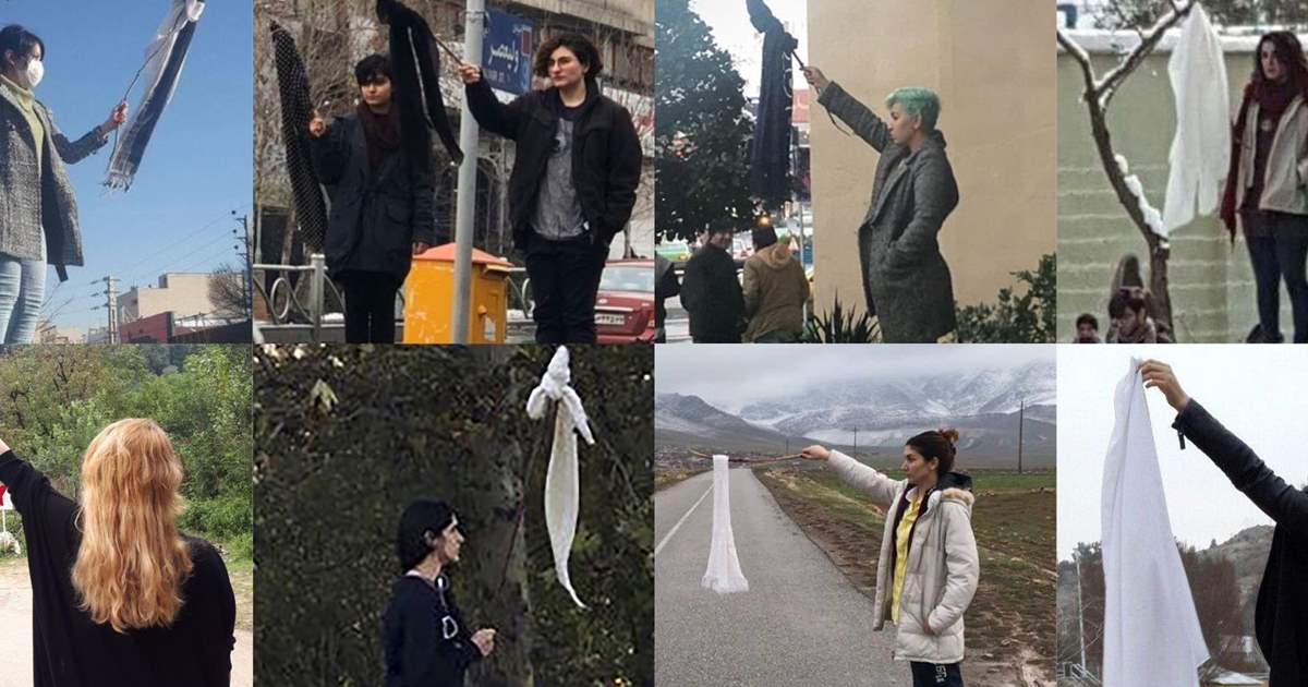 What is happening in #Iran today needs more focus of #HumanRights organizations. #Iran regime tries to suppress women who are against forced hijab. #WomensRightsAreHumanRights #Standup4HumanRights #WomensRights #NoToHijab @UN_Women @mbachelet #WhiteWednesdays #Iran @JavaidRehman<br>http://pic.twitter.com/Edc9E9TdFO