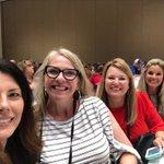 Image for the Tweet beginning: @GACTE Teacher Conference @Hall_Schools Representing!