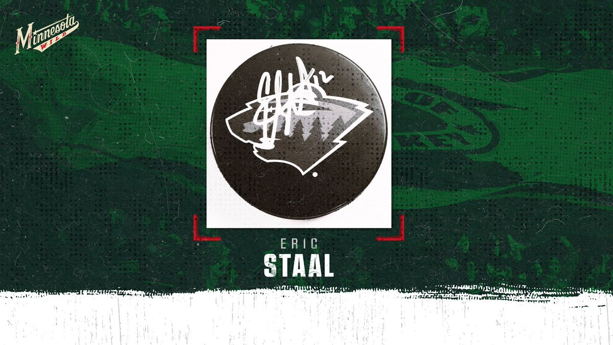 Its the 12th of the month, so lets give away 12 Eric Staal pucks. RT to enter. 12 random winners. #mnwild