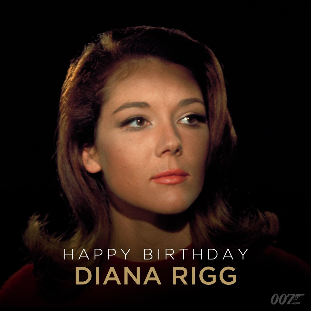 Happy Birthday to Diana Rigg. Diana played Tracy Di Vicenzo, the woman who became Bond's only wife, in ON HER MAJESTY'S SECRET SERVICE (1969).