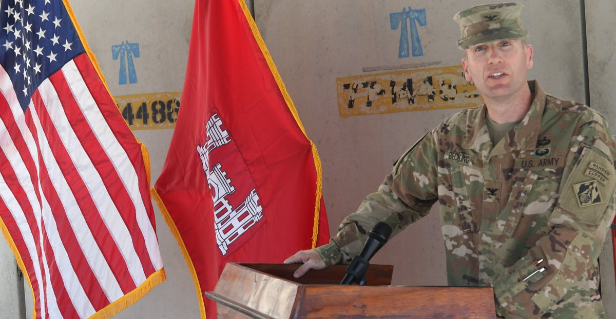 Afghanistan District gives a warm welcome to its new Commanding Officer: Read More: tad.usace.army.mil/Media/News-Sto…