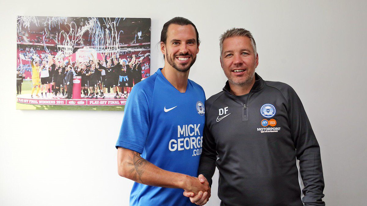 ✍️SIGNING | We are absolutely delighted to announce the return of the #WhitePele as George Boyd pens a two-year contract at the @mickgeorgeltd Training Academy. As Monday's go, it is a pretty good one. Excited Posh fans? #pufc #WelcomeBackBoydy