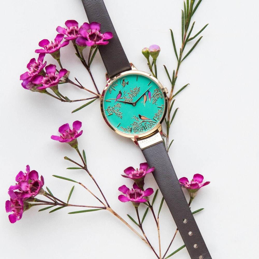 イギリス発「サラミラーロンドン」の腕時計が日本初上陸、花や鳥を描いた色鮮やかな文字盤 - https://www.fashion-press.net/news/51706