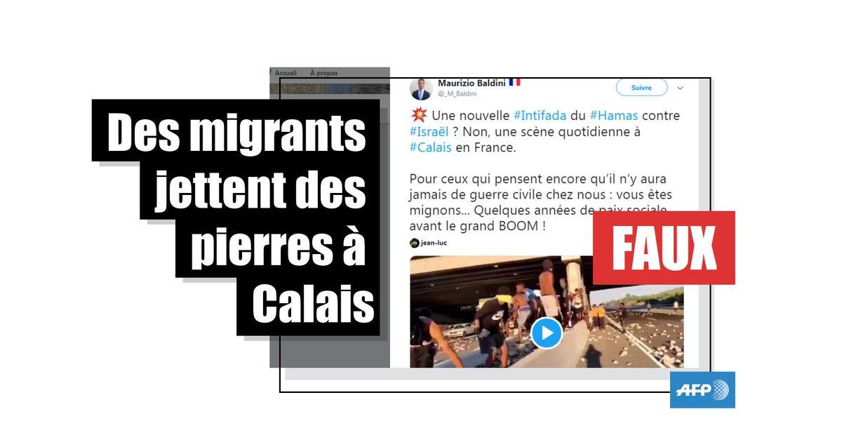 """💬 Une """"scène quotidienne de l'immigration"""" à Calais ? ❌ Cette scène, partagée par l'extrême droite européenne, s'est déroulée début juillet en Israël, après la mort d'un jeune Israélien d'origine éthiopienne, tué par un policier http://u.afp.com/MBCi par @greglemarchand"""