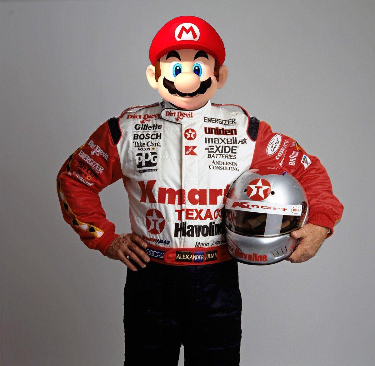 Vitantonio Luigi et Mario Andretti
