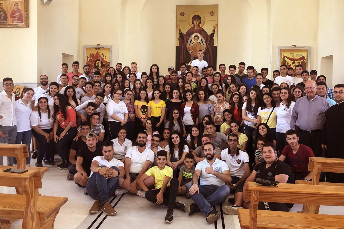 Syria - 130 young people animated by Salesian Cooperators of Damascus https://t.co/RmS1LkAcNj https://t.co/wZ5p3Ia5gy