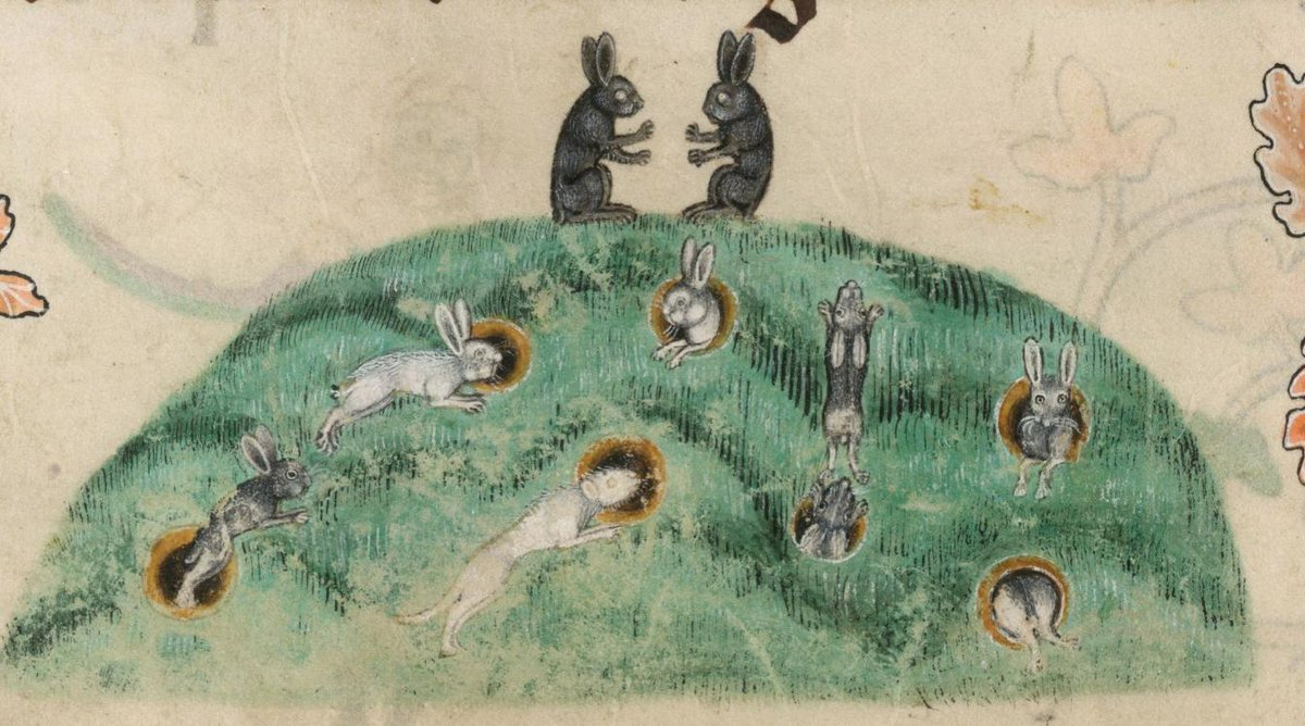 #OldEnglish #WOTD: ge-gaderwist, f.n: state of being together (probably meaning cohabitation in marriage). (yeh-GAH-der-wist) Image: Luttrell Psalter; N. England (Lincolnshire), 1325-1340; @BLMedieval Add. MS 42130, f. 176v.<br>http://pic.twitter.com/IX7XY5Rmy4