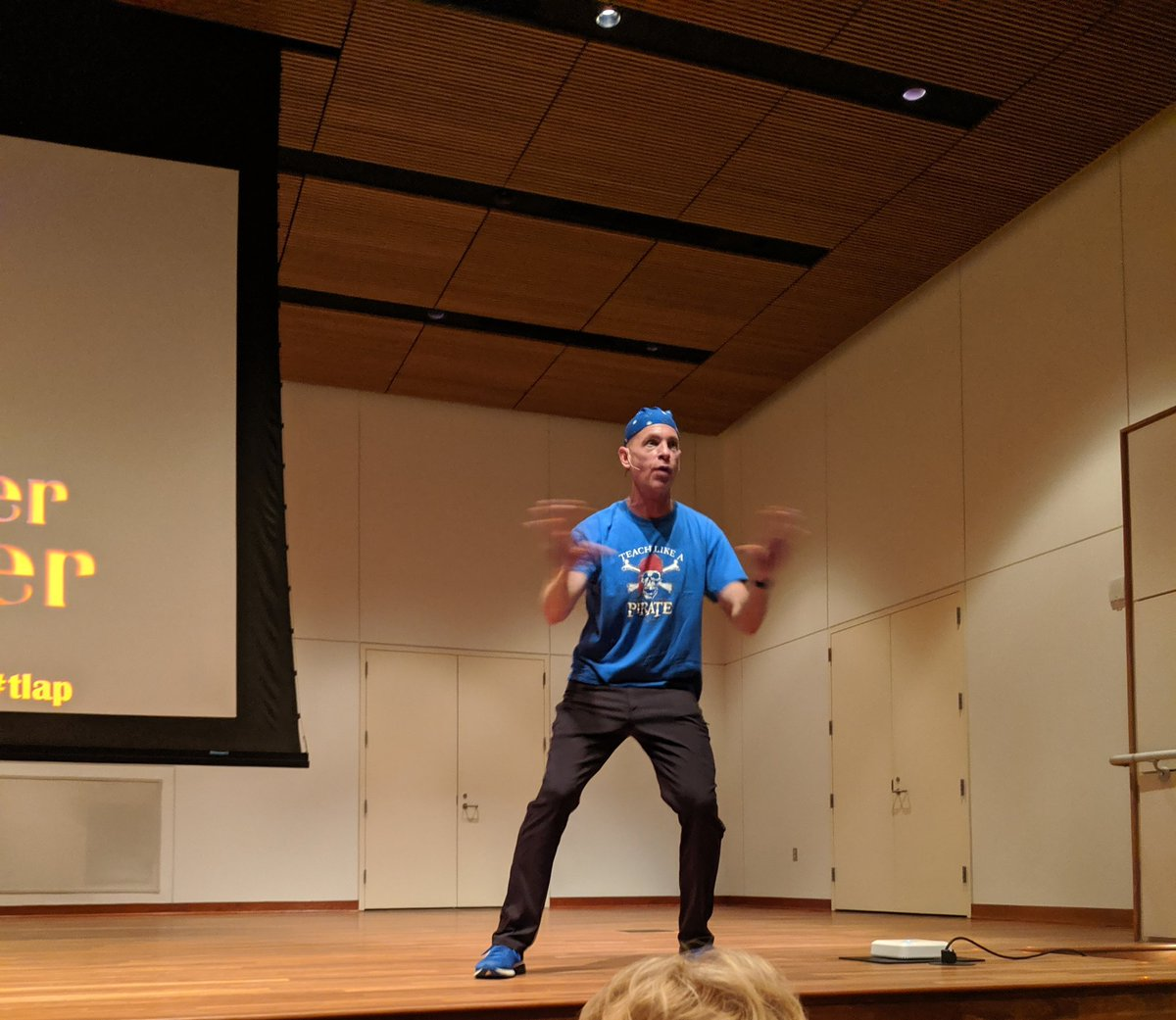 Learning how to teach like a pirate with @burgessdave ! #tlap #scienceonthegrand @we_are_vaei