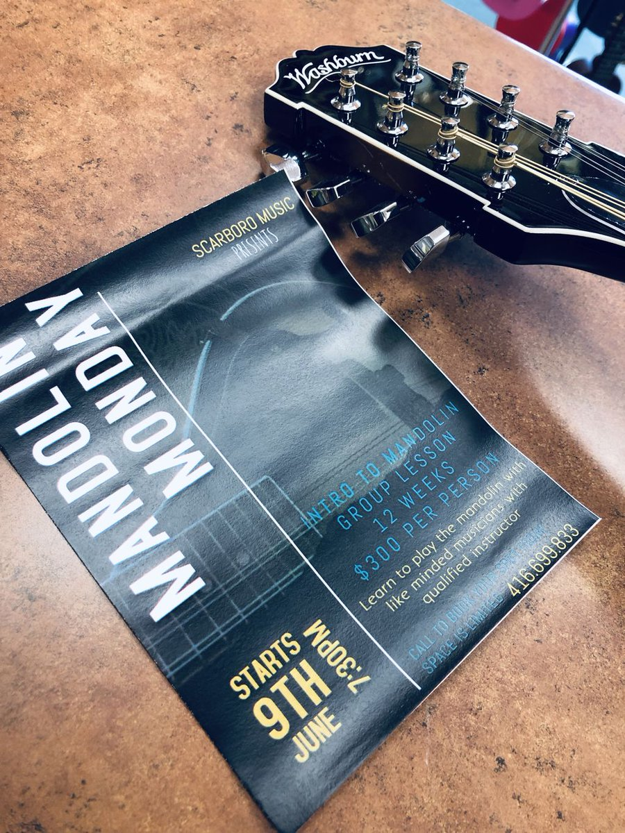 Have you ever heard of #MandolinMondays? Well now you have.  Starting Monday September 9th #INTROTOMANDOLIN! 12 week course. Learn the #mandolin with like minded musicians passionate about learning. Call us today to reserve your spot.  416.699.8333 #wearemusic #toronto #the6ix<br>http://pic.twitter.com/QGrjuOol5J