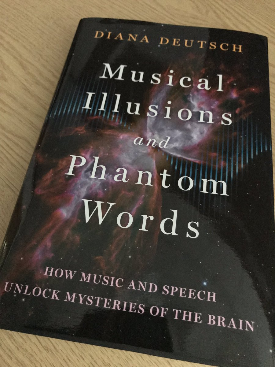 Really looking forward to reading this by a master in the field. No mention of #tinnitus in the index though! Interesting how auditory neuroscience often overlooks tinnitus and #hyperacusis.<br>http://pic.twitter.com/ZdSnH12NmQ