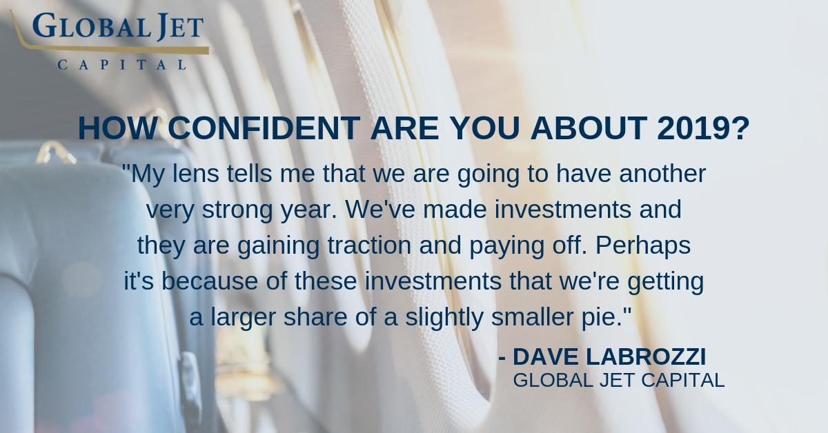 Check out what Dave Labrozzi has to say about 2018 and record high pre-owned business jet sales: hubs.ly/H0jNcGc0. #bizav #businessaviation #aviation
