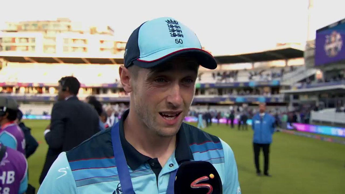 England shared their excitement of winning the #CWC19 after an EPIC clash against New Zealand at Lord's Cricket Ground on Sunday 🏏