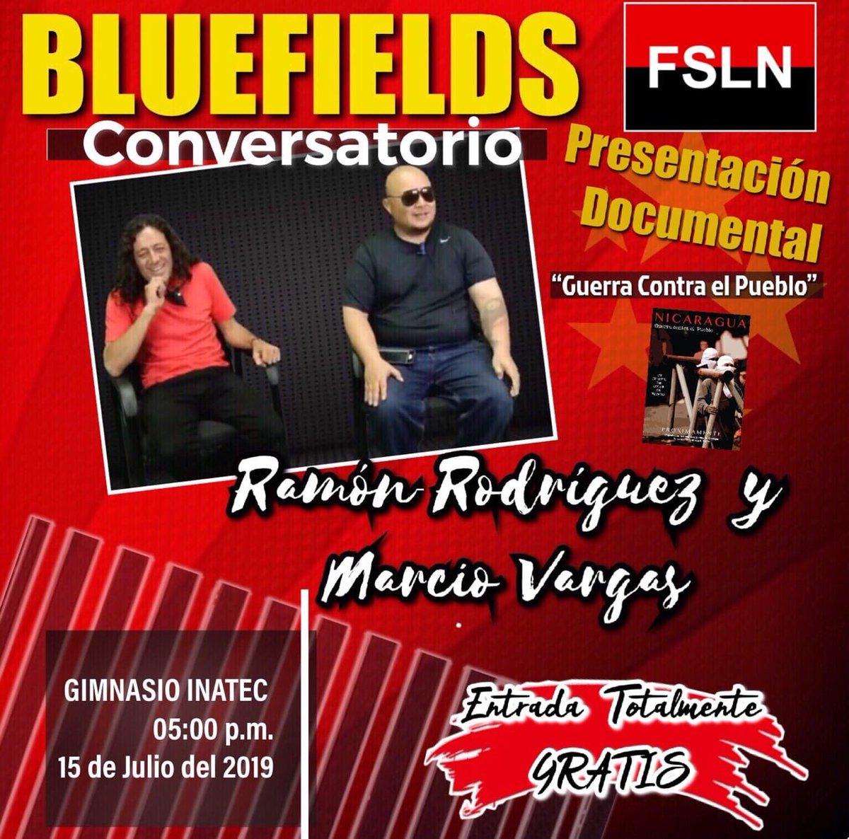 Hoy nos vemos en Bluefields. No Pudieron Ni Podrán. #PLOMO19 #Nicaragua40Revolución
