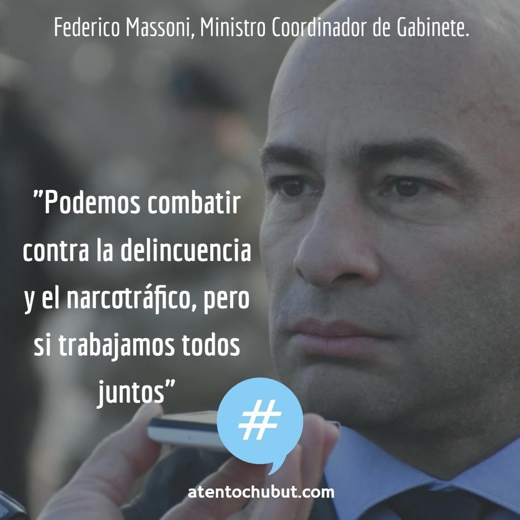El ministro Coordinador de Gabinete, Federico Massoni (@massonifederico), se refirió a la detención de Severo Torres, realizada el pasado fin de semana en la ciudad de #Trelew 👉Más en https://atentochubut.com