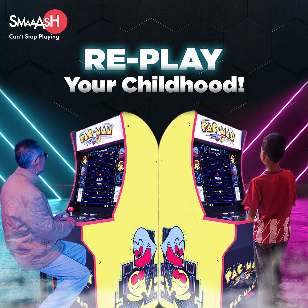 Take a trip down memory lane with Good ol arcade games. ThatsHowISmaaash https t.co FrqrgMelbp