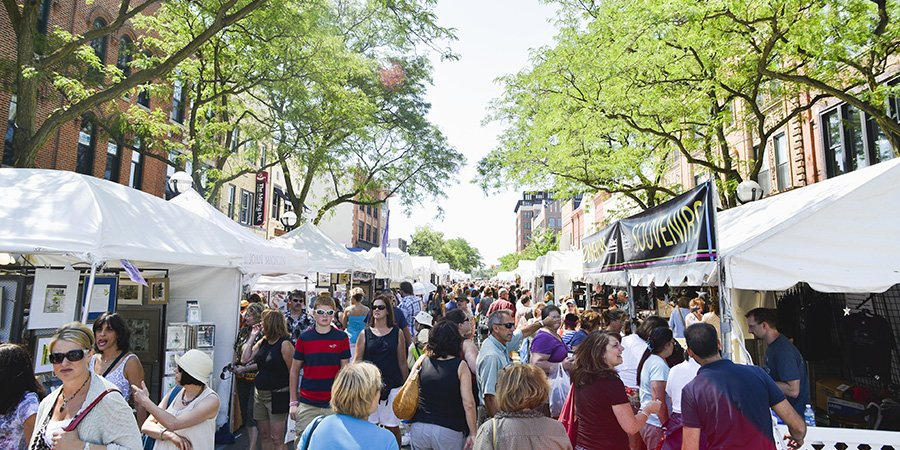 Grab a friend and go check out the Ann Arbor Art Fair starting Thursday! Enjoy original art, street performances, and great food–the fair runs from July 18 to 21 🎨 #Social #Wellbeing