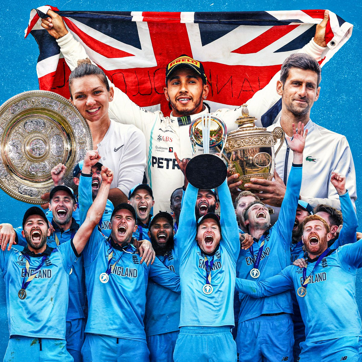 WHAT. A. WEEKEND. What was your highlight?! #CWC19Final #Wimbledon #BritishGP