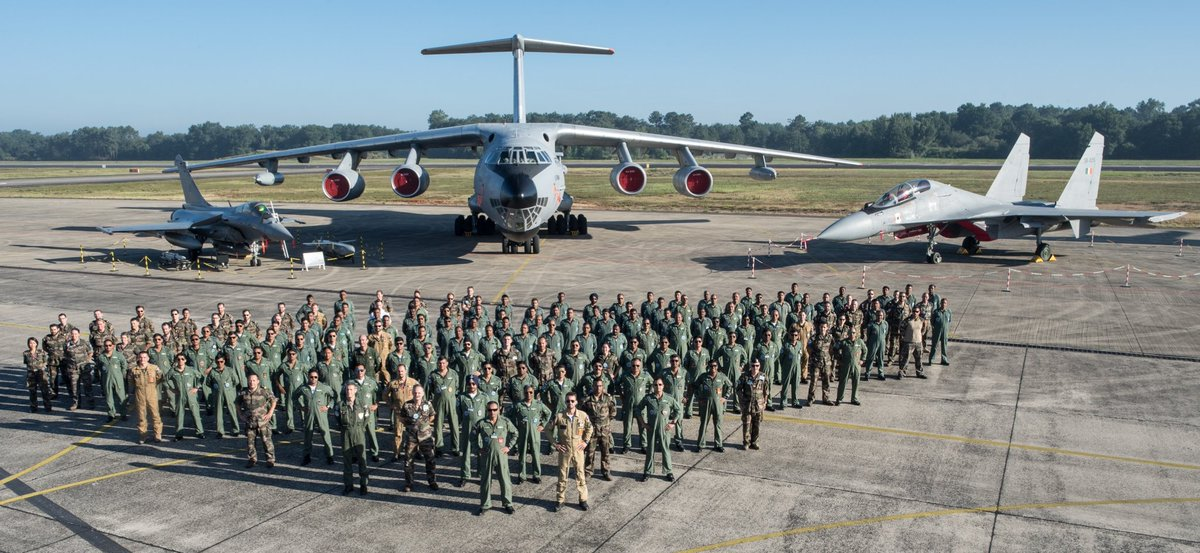#ExGaruda2019: Garuda-VI culminated with team IAF achieving its set goals in the exercise. Thank you @Armee_de_lair for all the support & for making the exercise a memorable one for us. IAF-FAF worked together as a team & learned from each other.