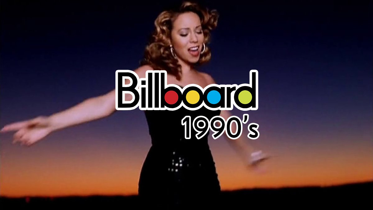 Mariah Carey's Billboard Hot 100 Entries (1990's)  Vision of Love — #1 Love Takes Time — #1 Someday — #1 I Don't Wanna Cry — #1 Emotions — #1 Can't Let Go — #2 Make It Happen — #5 I'll Be There — #1 Dreamlover — #1 Hero — #1 Without You — #3 Anytime You Need A Friend — #12  (1/2) <br>http://pic.twitter.com/b5tmiJElST