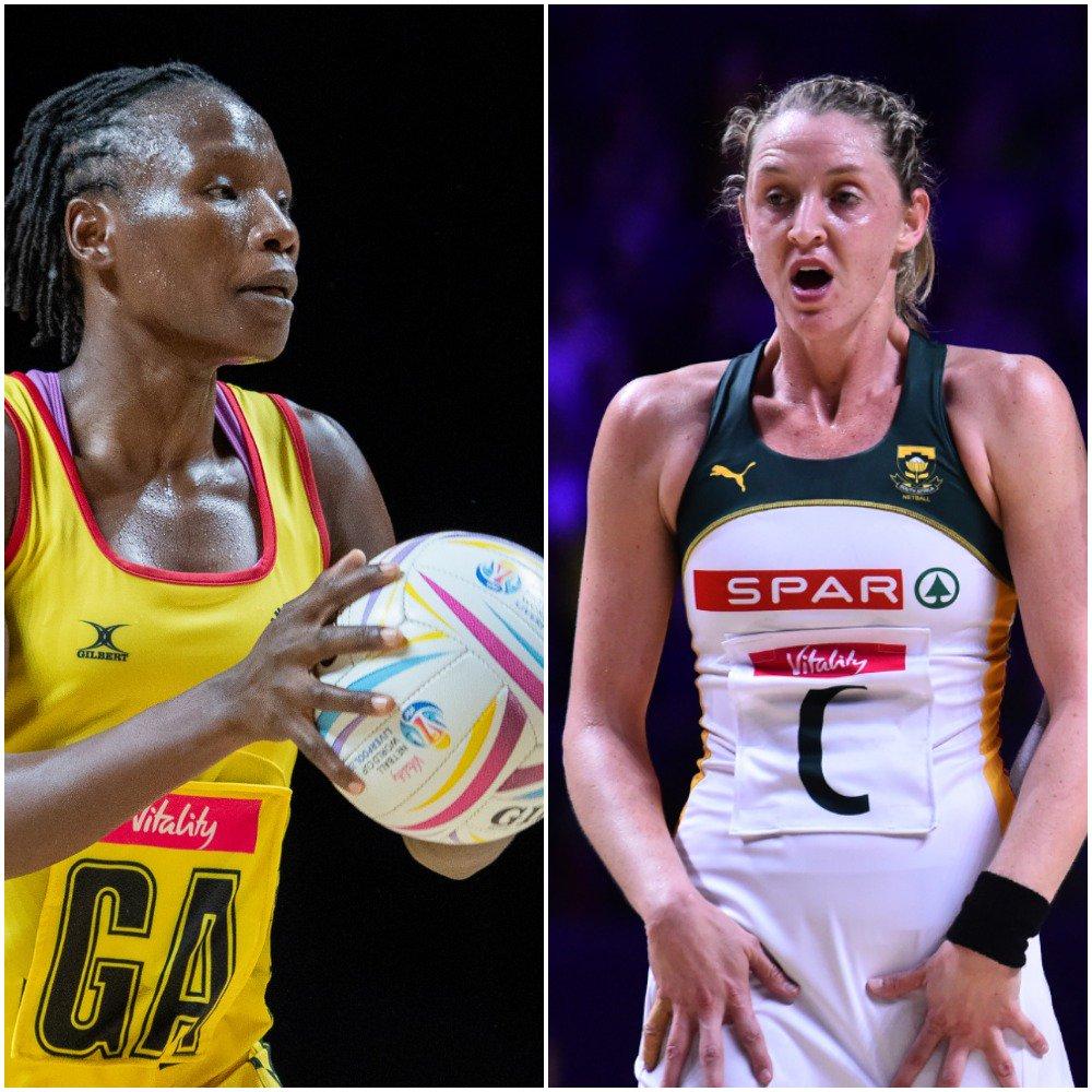 #NWC2019 AFRICA UPDATE: Zimbabwe 36-79 New Zealand Northern Ireland 43-47 Malawi  Coming up next: Trinidad & Tobago v Uganda South Africa v Scotland