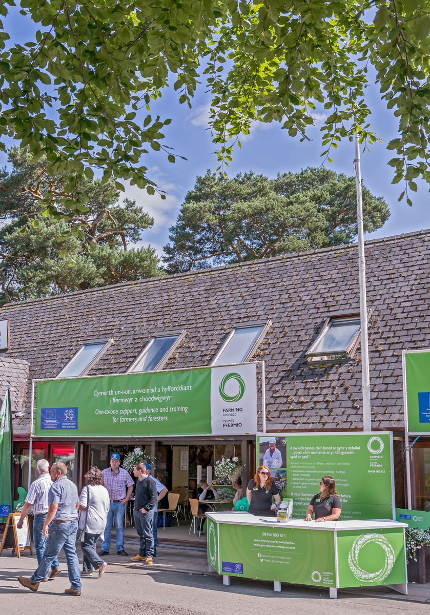 A week to go before the 2019 Royal Welsh Show. Are you attending the show? Remember to call by the Farming Connect for a cup of tea and a chat with the staff who will be able to share information about the projects available. #Sioe19 #RWS100 🐖🐔🐴🐄🐑🌳