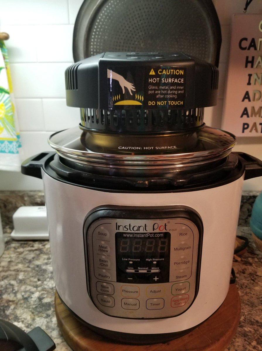 Mealthy CrispLid 220v Trivet Crisp or Broil on Your Electric ...
