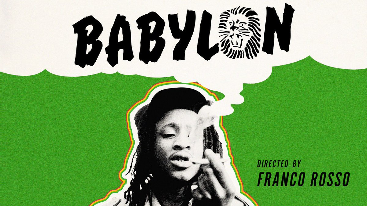 BABYLON (1980), Franco Rossos incendiary, long-suppressed time capsule from London's reggae underground, is now playing on the Channel! criterionchannel.com/babylon