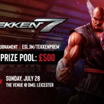 Image for the Tweet beginning: We're back! The Tekken Premiership