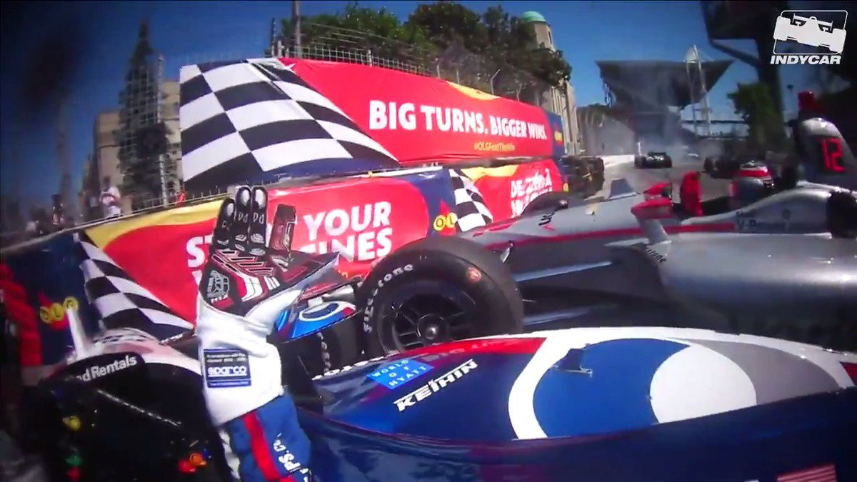 🚨 Spoiler Alert 🚨 the 1:04 mark was no bueno. 👎🏼 @GrahamRahal made some lemonade out of 🍋 🍋🍋 though. 🙌🏼