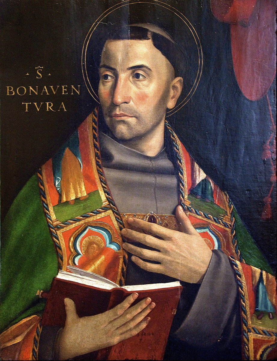 Today is the feast of #StBonaventure, the 13th-century Franciscan scholar and cardinal. A contemporary of Aquinas, Bonaventure fought alongside his colleague to secure the freedom of the mendicant orders, all the while giving intellectual shape to the early Franciscan spirit.