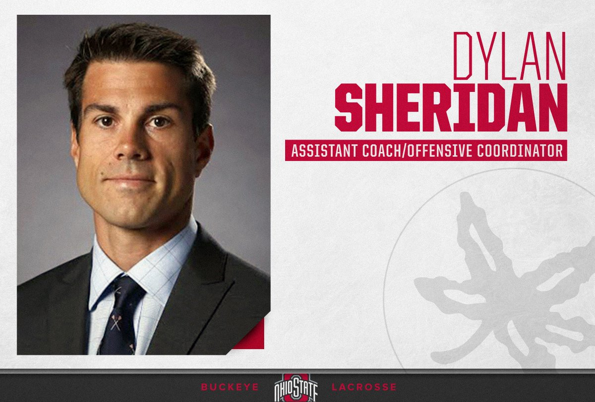 Ohio State men's lacrosse hires Dylan Sheridan as assistant