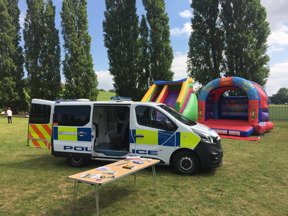 #Scunthorpe currently at Westcliff Primary School fair engaging with the children and conducting humbertalking #nicedayforfunandgames