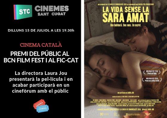 Voleu passar un dilluns de cine? Avui als @CinemesStCugat la directora @laurajoubonet presenta 'La vida sense la Sara Amat'. Posteriorment farà un debat amb el públic #SantCugat No us ho perdeu!  @totsantcugat @cugatmedia
