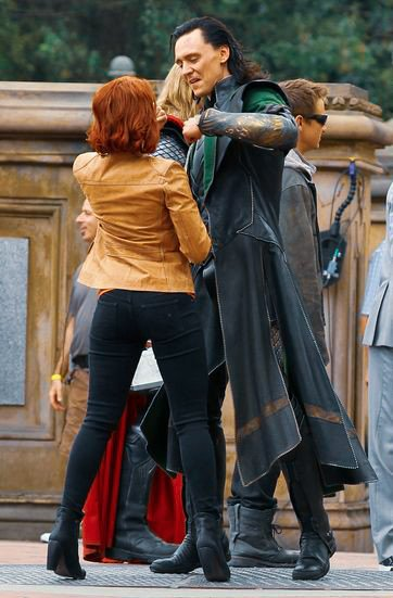 natasha and loki 💗 #TeenChoice #ChoiceActionMovieActress #ScarlettJohansson